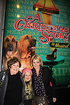 """Maura West - As The World Turns' """"Carly"""" and Young and Restless, poses with her daughter Kate and husband Scott's mom as son Joe makes his Broadway Debut as """"Ralphie"""" in A Christmas Story The Musicall on December 20, 2012 at the Lunt-Fontanne Theatre, New York City, New York. (Photo by Sue Coflin/Max Photos)"""