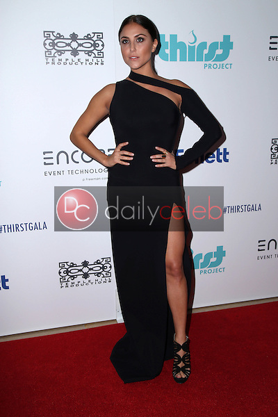Cassie Scerboat the Sixth Annual Thirst Gala, Beverly Hilton Hotel, Beverly Hills, CA 06-30-15<br /> David Edwards/DailyCeleb.com 818-249-4998