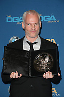 BEVERLY HILLS, CA - FEBRUARY 3: Martin McDonagh in the press room at the 70th Annual DGA Awards at The Beverly Hilton Hotel in Beverly Hills, California on February 3, 2018. <br /> CAP/MPI/FS<br /> &copy;FS/MPI/Capital Pictures