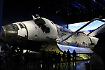 Kennedy Space Center, Florida - Tuesday January 16, 2018: Space Shuttle Atlantis.