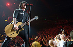 Green Day performs at the Sommet Center in Nashville, Tennessee on Friday, July, 2009. (Photo by Frederick Breedon)