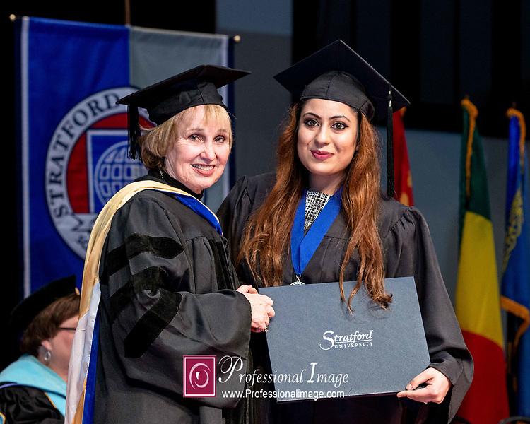 Stratford Univ. Graduation @ Hylton Memorial Chapel