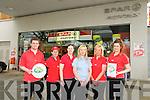 Spar Express Listowel : Eoin Kelly, Pauline Walsh, Jenny Keane, Gillian Morris, Eleanor Goulding & Amy Browne.