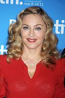 Madonna en el 'W.E.' conferencia de prensa durante el Festival de Cine de Toronto 2011 en el TIFF Bell Lightbox *September*12*2011* in Toronto, Canada. (©mpi01/MediaPunch/Nortephoto.com)