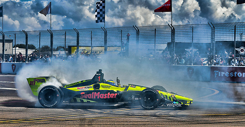 2018 Verizon IndyCar Series - Firestone Grand Prix of St. Petersburg<br /> St. Petersburg, FL USA<br /> Sunday 11 March 2018<br /> Sébastien Bourdais, Dale Coyne Racing with Vasser-Sullivan Honda<br /> World Copyright: Richard Dole / LAT Images<br /> ref: Digital Image _DSC4911