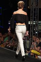 S&Atilde;O PAULO-SP-03.03.2015 - INVERNO 2015/MEGA FASHION WEEK -Grife Inicial A/<br /> O Shopping Mega Polo Moda inicia a 18&deg; edi&ccedil;&atilde;o do Mega Fashion Week, (02,03 e 04 de Mar&ccedil;o) com as principais tend&ecirc;ncias do outono/inverno 2015.Com 1400 looks das 300 marcas presentes no shopping de atacado.Br&aacute;z-Regi&atilde;o central da cidade de S&atilde;o Paulo na manh&atilde; dessa segunda-feira,02.(Foto:Kevin David/Brazil Photo Press)