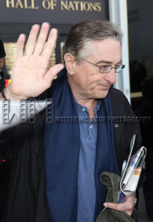 Robert De Niro attending the Rehearsals for the 35th Kennedy Center Honors at Kennedy Center in Washington, D.C. on December 2, 2012