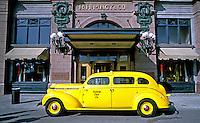 Automovel taxi na Universal Studios em Orlando. Foto de Salomon Cytrynowicz.