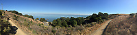 Shoreline Trail Panorama, China Camp State Park, San Rafael, California, US