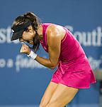 Ana Ivanovic (SRB) defeats Maria Sharapova (RUS) 6-2, 5-7, 7-5