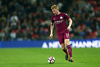 Kevin De Bruyne of Manchester City during Tottenham Hotspur vs Manchester City, Premier League Football at Wembley Stadium on 14th April 2018