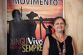 Altamira, Para State, Brazil. Antonia Melo, coordinator of Movimento Xingu Vivo Para Sempre.