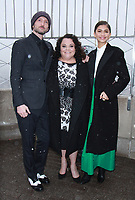 NEW YORK, NY - DECEMBER 9: Michael Gracey,  Keala Settle. Zendaya pictured as the cast of The Greatest Showman attend the Empire State Building in New York City on December 9, 2017. Credit: RW/MediaPunch /nortephoto.com NORTEPHOTOMEXICO