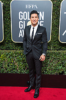 Mario Lopez arrives at the 75th Annual Golden Globe Awards at the Beverly Hilton in Beverly Hills, CA on Sunday, January 7, 2018.<br /> *Editorial Use Only*<br /> CAP/PLF/HFPA<br /> &copy;HFPA/Capital Pictures