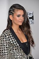 LOS ANGELES, CA. November 20, 2016: Actress Nina Dobrev at the 2016 American Music Awards at the Microsoft Theatre, LA Live.<br /> Picture: Paul Smith/Featureflash/SilverHub 0208 004 5359/ 07711 972644 Editors@silverhubmedia.com