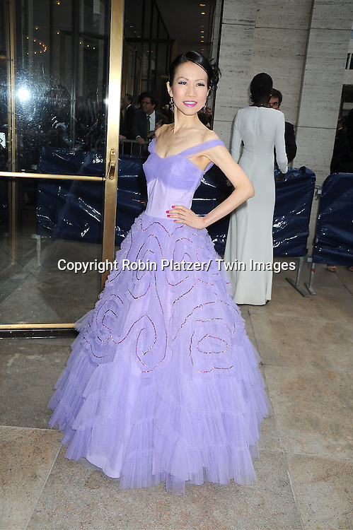 Chiu-Ti Jansen attends the American Ballet Theatre Spring Gala at The Metropolitan Opera House at Lincoln Center on May 14, 2012.