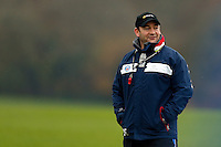 First team coach Darren Edwards looks on. Bath Rugby training session on November 25, 2014 at Farleigh House in Bath, England. Photo by: Patrick Khachfe / Onside Images