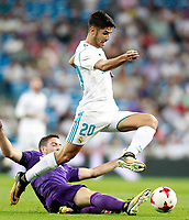 Real Madrid's Marco Asensio during Santiago Bernabeu Trophy. August 23,2017. (ALTERPHOTOS/Acero) /NortePhoto.com