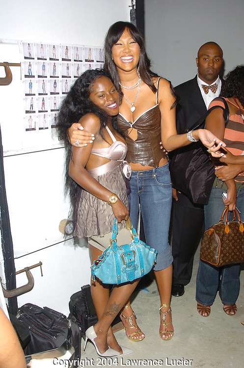 Foxy Brown and Kimora Lee Simmons