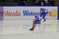 SCHAATSEN: HEERENVEEN: 23-01-2016, IJsstadion Thialf, NK Sprint/NK Allround, Margot Boer, Janine Smit, ©foto Martin de Jong