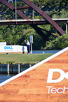 Marc Leishman (AUS) watches his tee shot on 14 during round 4 of the World Golf Championships, Dell Technologies Match Play, Austin Country Club, Austin, Texas, USA. 3/25/2017.<br /> Picture: Golffile | Ken Murray<br /> <br /> <br /> All photo usage must carry mandatory copyright credit (&copy; Golffile | Ken Murray)
