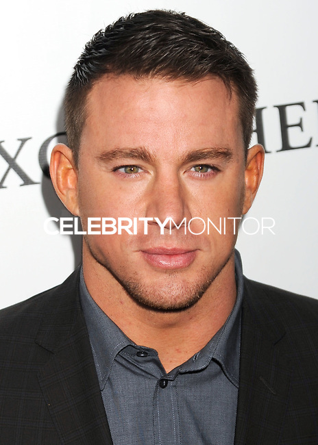 NEW YORK CITY, NY, USA - OCTOBER 10: Channing Tatum arrives at the 52nd New York Film Festival - 'Foxcatcher' Premiere held at Alice Tully Hall on October 10, 2014 in New York City, New York, United States. (Photo by Celebrity Monitor)