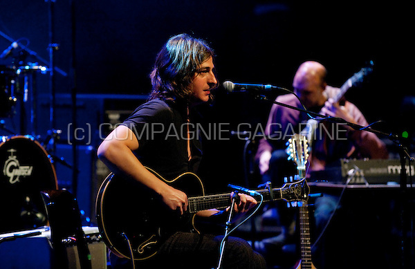 Belgian rock band Lyenn at the De Nachten literature festival in Antwerp (Belgium, 06/11/2009)