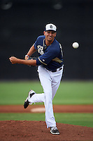 San Diego Padres pitcher Jeff Ibarra (25) during an instructional league game against the Milwaukee Brewers on October 6, 2015 at the Peoria Sports Complex in Peoria, Arizona.  (Mike Janes/Four Seam Images)