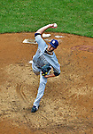 15 May 2012: San Diego Padres pitcher Anthony Bass on the mound against the Washington Nationals at Nationals Park in Washington, DC. The Padres defeated the Nationals 6-1 to split their 2-game series. Mandatory Credit: Ed Wolfstein Photo