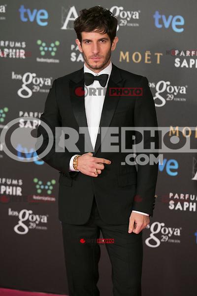 Quim Gutierrez attend the 2015 Goya Awards at Auditorium Hotel, Madrid,  Spain. February 07, 2015.(ALTERPHOTOS/)Carlos Dafonte) /NORTEphoto.com