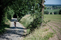 the Oude Kwaremont<br /> <br /> cycling hotspots & impressions in the Vlaamse Ardennen (Flemish Ardennes) <br /> <br /> Cycling In Flanders <br /> Flanders Tourist Board<br /> <br /> ©kramon