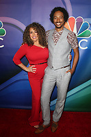 BEVERLY HILLS, CA - AUGUST 8: Diana Maria Riva and Samba Schutte at the 2019 NBC Summer Press Tour at the Wilshire Ballroom in Beverly Hills, California o August 8, 2019. <br /> CAP/MPIFS<br /> ©MPIFS/Capital Pictures
