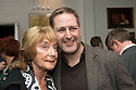 London, UK. 24.02.2014. Dame Gillian Lynne and Nick Winston (choreographer) at the after party for press night of The A to Z of Mrs P, which premieres at Southwark Playhouse. © Jane Hobson.