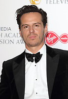 Andrew Scott at the Virgin Media BAFTA Television Awards 2019 - Press Room at The Royal Festival Hall, London on May 12th 2019<br /> CAP/ROS<br /> ©ROS/Capital Pictures