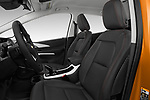 Front seat view of 2017 Chevrolet Bolt-EV Premier 5 Door Hatchback Front Seat  car photos