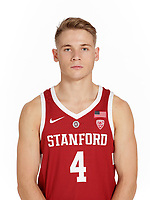 STANFORD, CA - August 03, 2018: The 2018-2019 Stanford Men's Basketball Team.