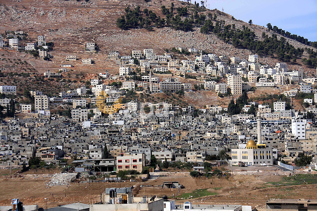 Palestinian Balata refugee camp is seen near the West Bank city of Nablus, Monday, on Nov. 1, 2010. Photo by Wagdi Eshtayah