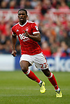 Tendayi Darikwa of Nottingham Forest during the Championship match at the City Ground Stadium, Nottingham. Picture date 30th September 2017. Picture credit should read: Simon Bellis/Sportimage