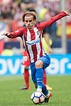 Antoine Griezmann of Atletico de Madrid reacts during their La Liga match between Atletico de Madrid vs Athletic de Bilbao at the Estadio Vicente Calderon on 21 May 2017 in Madrid, Spain. Photo by Diego Gonzalez Souto / Power Sport Images