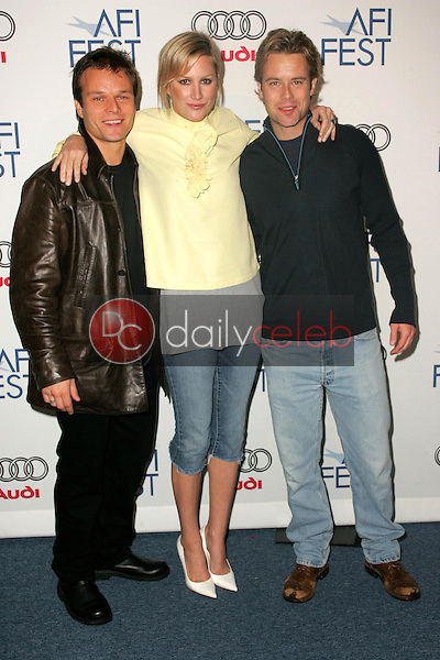 Alec Newman with Madchen Amick and Brad Rowe<br />