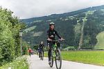 09.07.2019, Zell am Ziller, AUT, TL Werder Bremen Zell am Ziller / Zillertal Tag 05<br /> <br /> im Bild<br /> Ilia Gruev (Co-Trainer SV Werder Bremen), <br /> auf Mountainbike bei Radtour im Zillertal <br /> <br /> Foto © nordphoto / Ewert