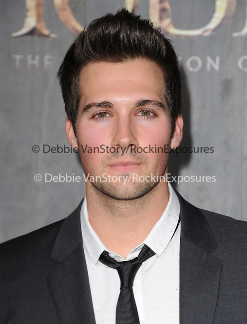 LOS ANGELES, CA - December 02: James Maslow arrives at The Warner Bros' Pictures L.A. Premiere of THE HOBBIT: THE DESOLATION OF SMAUG held at The Dolby Theater in Hollywood, California on December 02,2013                                                                               © 2013 Hollywood Press Agency