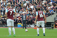 Everton Manager Sam Allardyce during West Ham United vs Everton, Premier League Football at The London Stadium on 13th May 2018