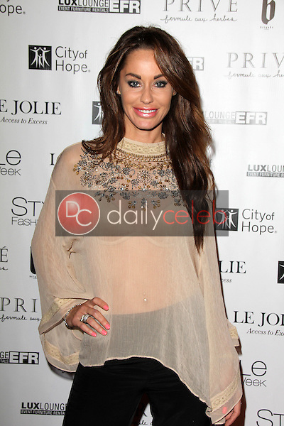Melanie Marden<br /> at Sue Wong's 'Fairies and Sirens' Fashion Show at L.A. Fashion Week. The Reef, Los Angeles, CA 10-15-14<br /> David Edwards/Dailyceleb.com 818-249-4998