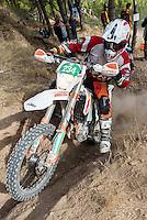 Mexican's Didier Goirand during the first day junior's trophy class of the FIM international six days of enduro 2016 in Navarra, Spain. October 11, 2016. (ALTERPHOTOS/Rodrigo Jimenez) NORTEPHOTO.COM
