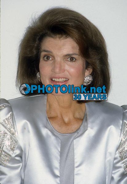 Jacqueline Kennedy 1985<br /> Photo By John Barrett/PHOTOlink