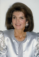 Jacqueline Kennedy 1985<br /> Photo By John Barrett/PHOTOlink