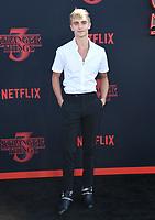 "28 June 2019 - Santa Monica, California - Hart Denton. ""Stranger Things 3"" LA Premiere held at Santa Monica High School. <br /> CAP/ADM/BT<br /> ©BT/ADM/Capital Pictures"