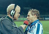 VOETBAL: SC Heerenveen, Koos Wieling - Maarten de Jong 1993, ©foto Martin de Jong