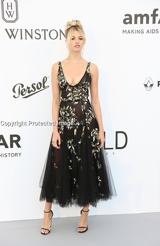 HAILEY CLAUSON<br /> amfAR Gala Cannes 2017 - Arrivals<br /> CAP D'ANTIBES, FRANCE - MAY 25 arrives at the amfAR Gala Cannes 2017 at Hotel du Cap-Eden-Roc on May 25, 2017 in Cap d'Antibes, France